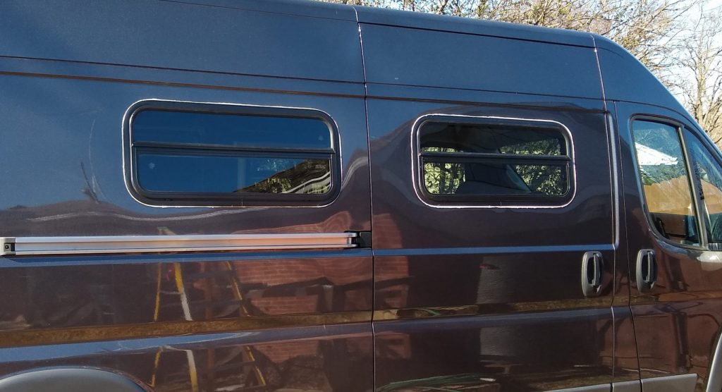 DIY RV Window Install completed photo