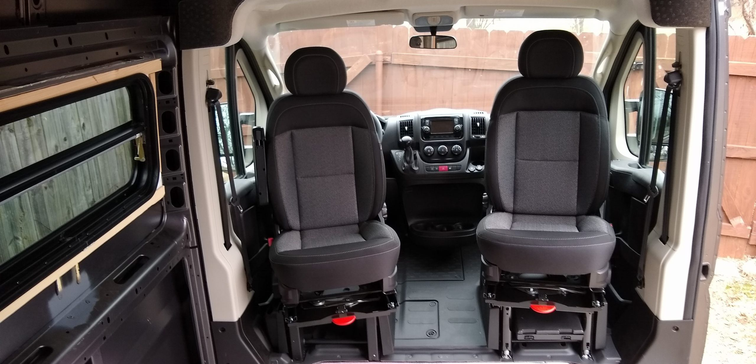 CTA Promaster Seat Swivels