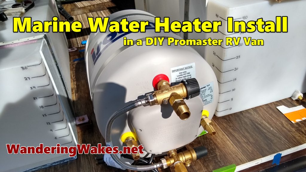 YouTube video of IsoTemp water heater install