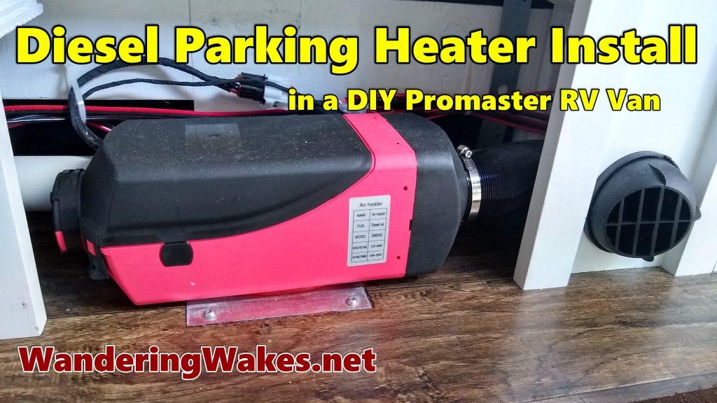 Diesel parking heater YouTube video.