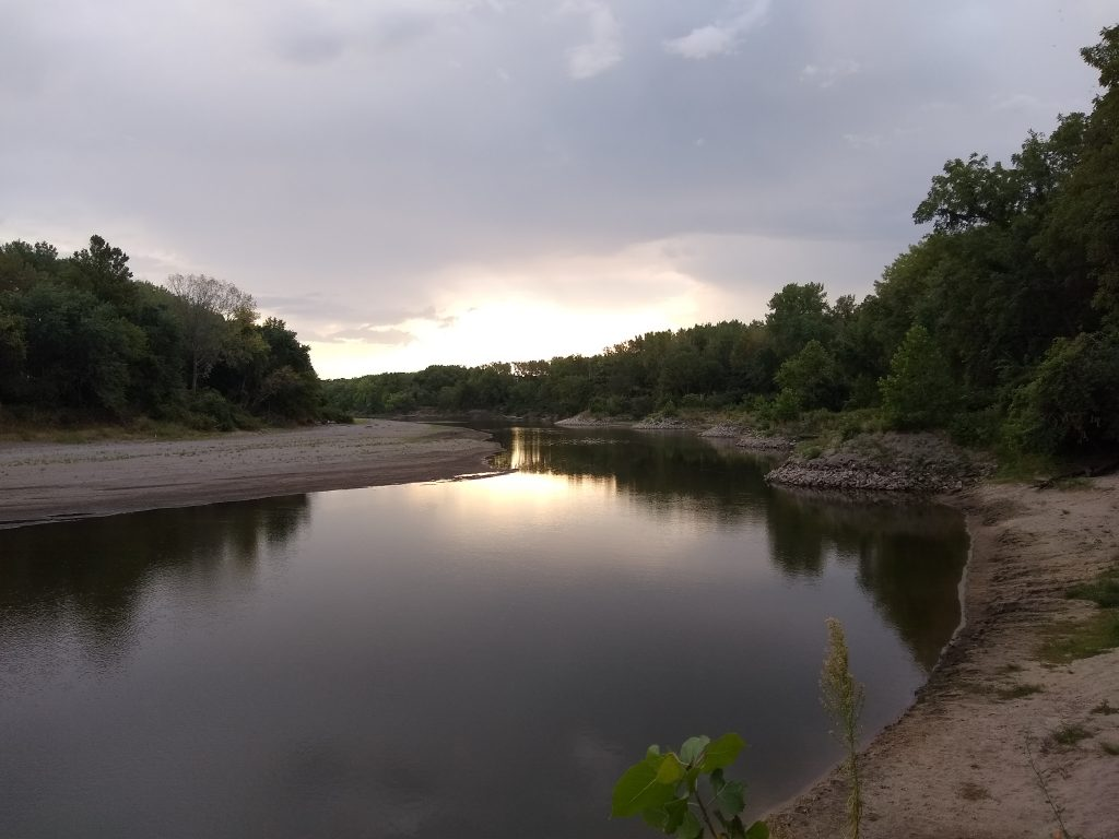 Racoon River near Des Moines