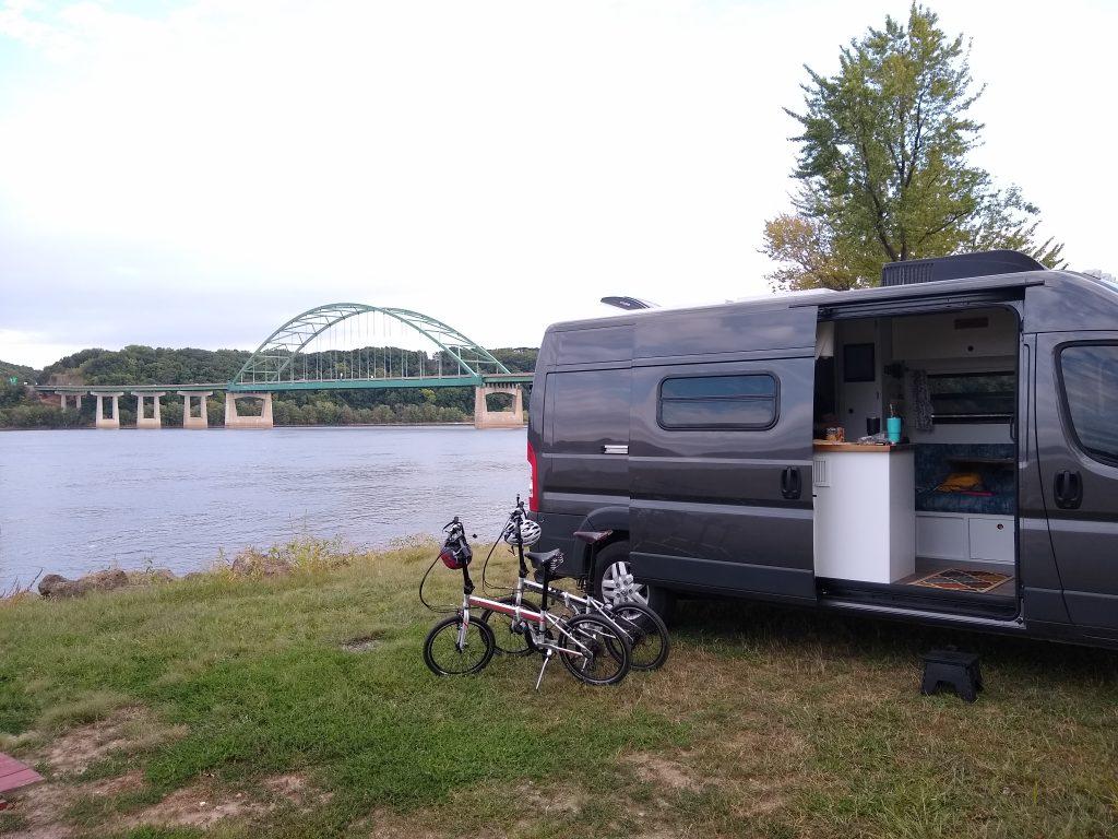 Miller Riverview Park in Dubuque, Iowa