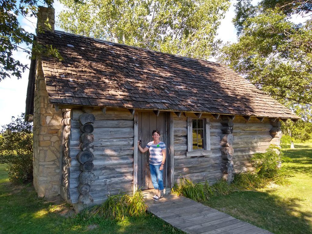 Laura Ingalls Wilder birthplace near Pepin, Wisconsin
