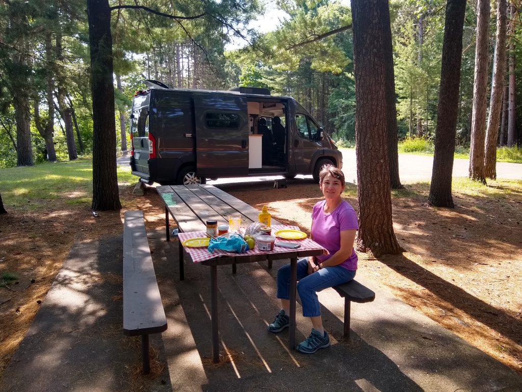 Picnic near the Chippewa Valley Museum