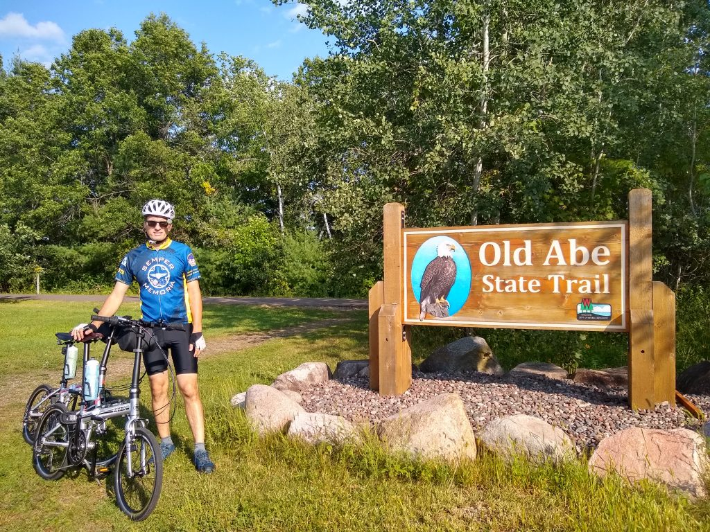 Bicycling the Old Abe Trail