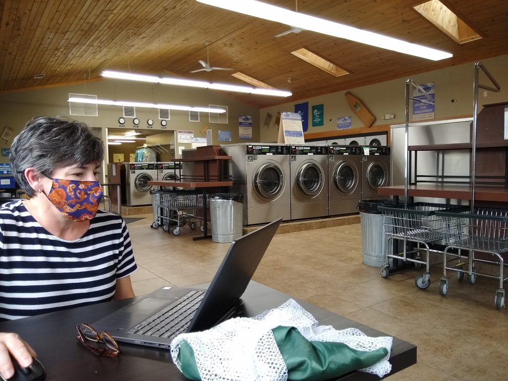 Laundry and email in Eau Claire Wisconsin