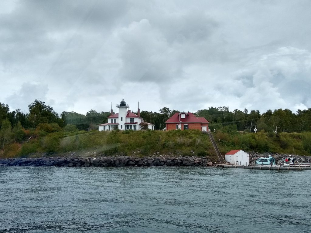 Lighthouse on Raspberry Island, Apostle Islands, Wisconsin