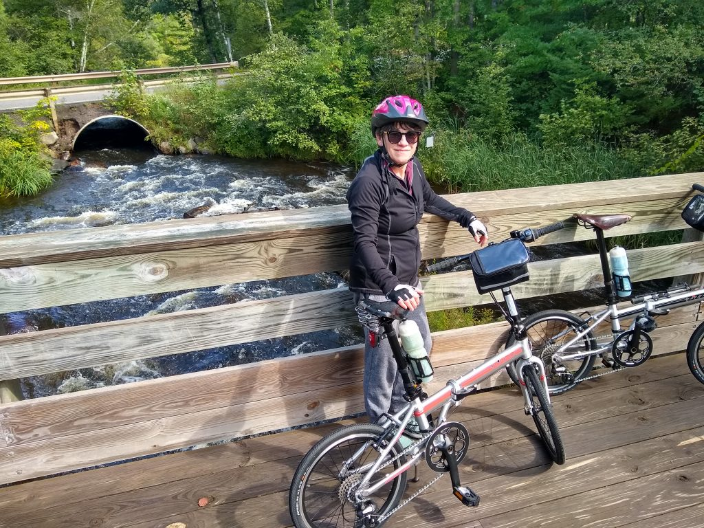 Bicycling the Heart of Vilas bike trail