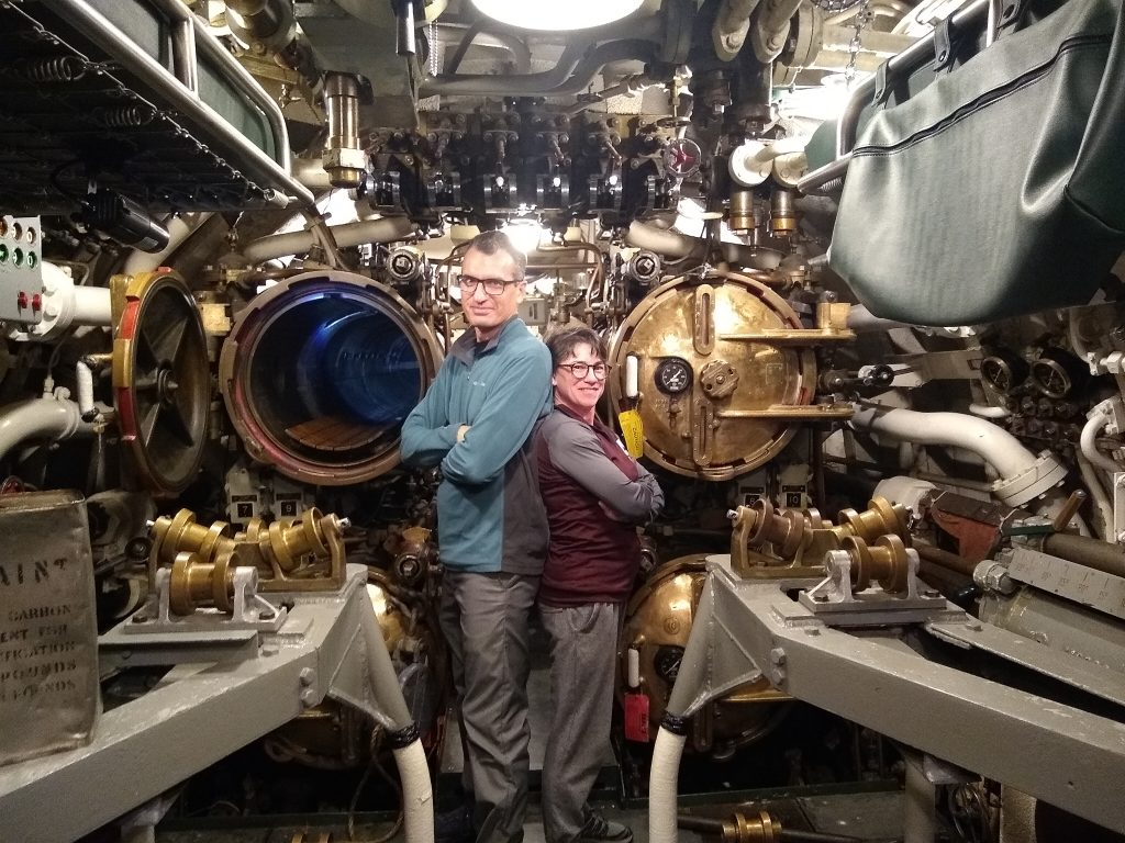 Aft torpedo room, USS Cobria, Manitowoc, Wisconsin