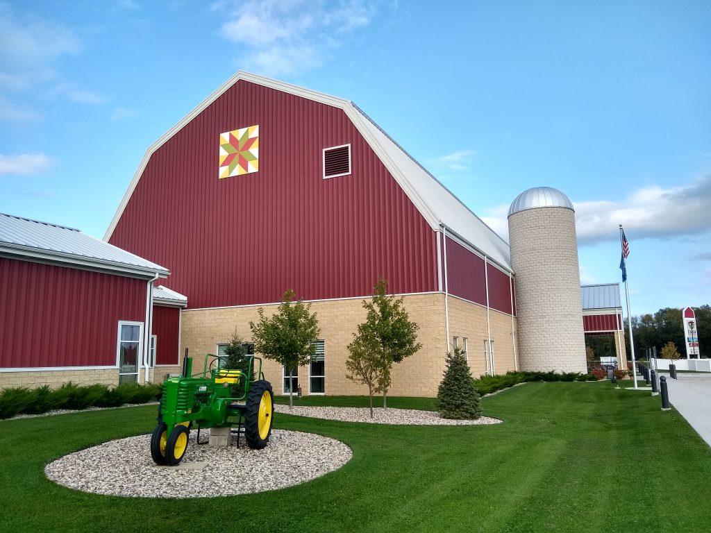 Farm Wisconsin, a Harvest Host campsite, Newton, Wisconsin