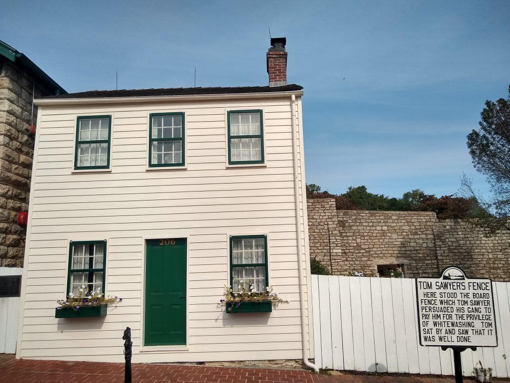Mark Twain boyhood home, Hannibal, MO