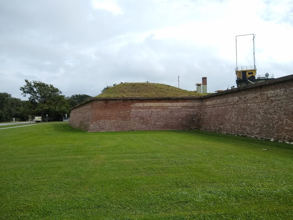 Fort Moultrie in Charleston, SC