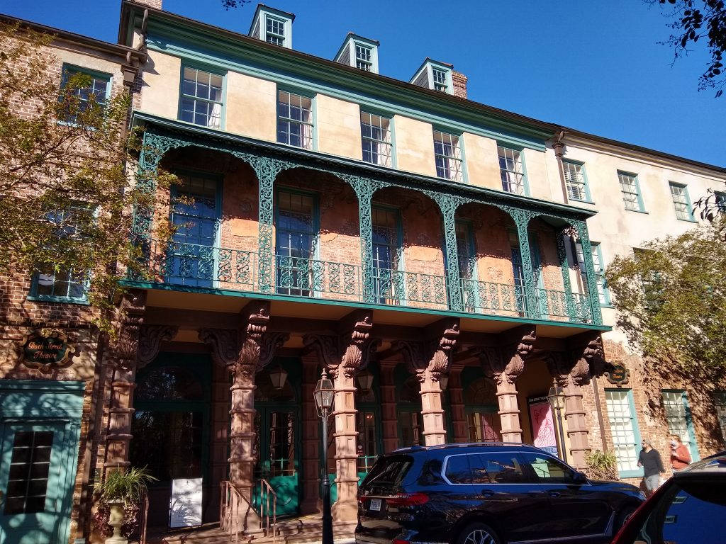 Sites and buildings on the Charleston SC walking tour