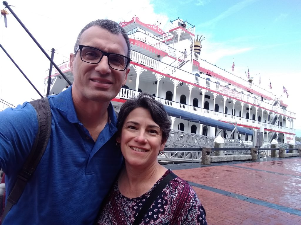 Riverboat cruise and tour on the Savannah River