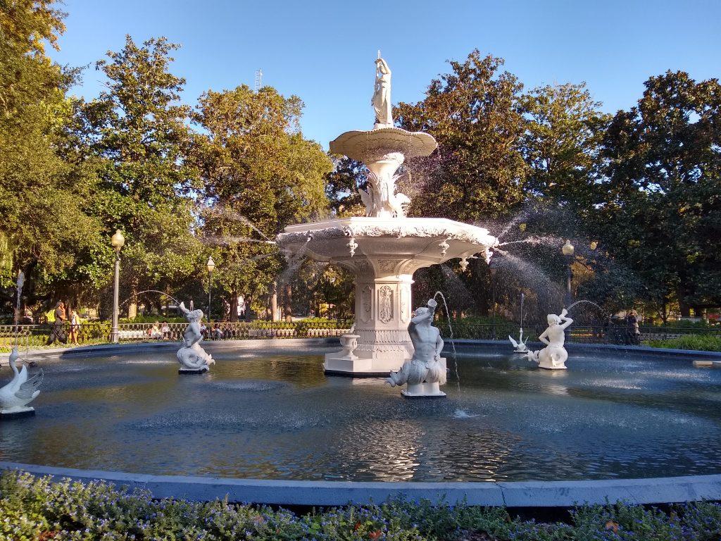 Forsythe Park in Savannah, Georgia