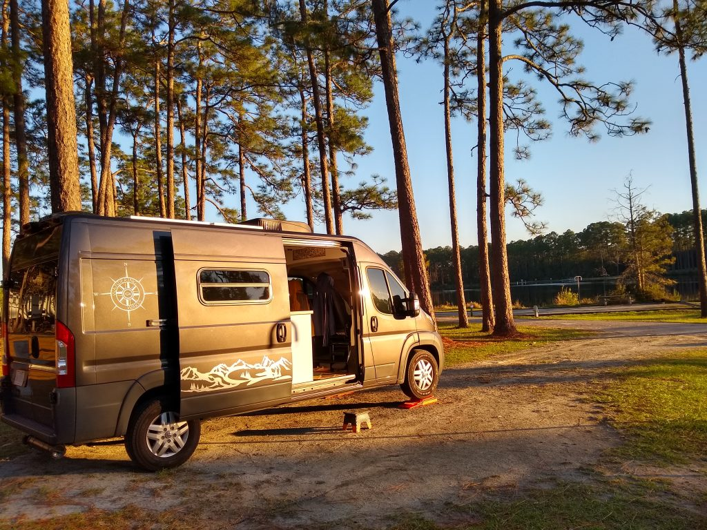 Camping at Laura S. Walker State Park in Georgia