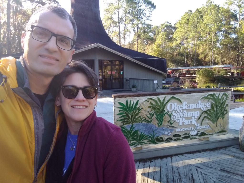 Visiting the Okefenokee Swamp Park in Georgia