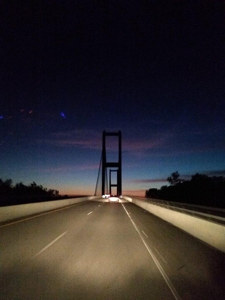 Bridge over the Mississippi at New Roads, Louisiana