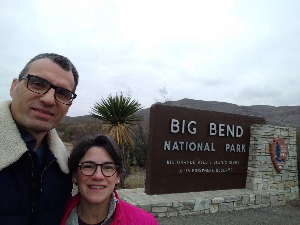 Entering Big Bend National Park from the north via Marathon, TX