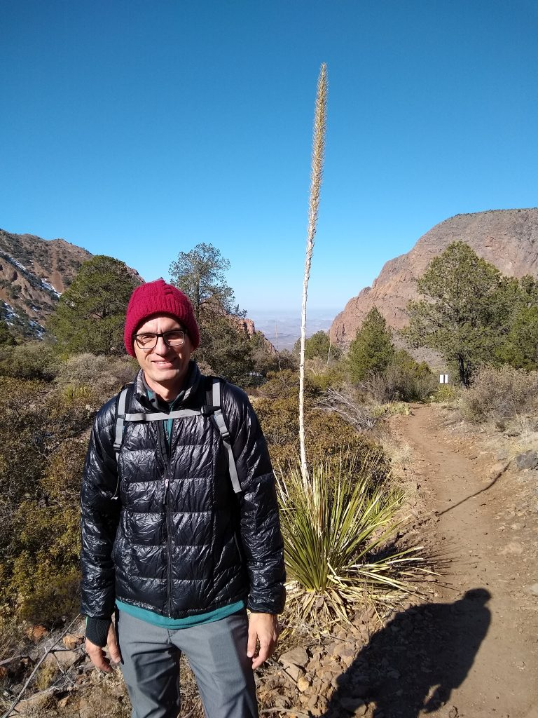 Enjoying the desert flora and fauna in Big Bend National Park