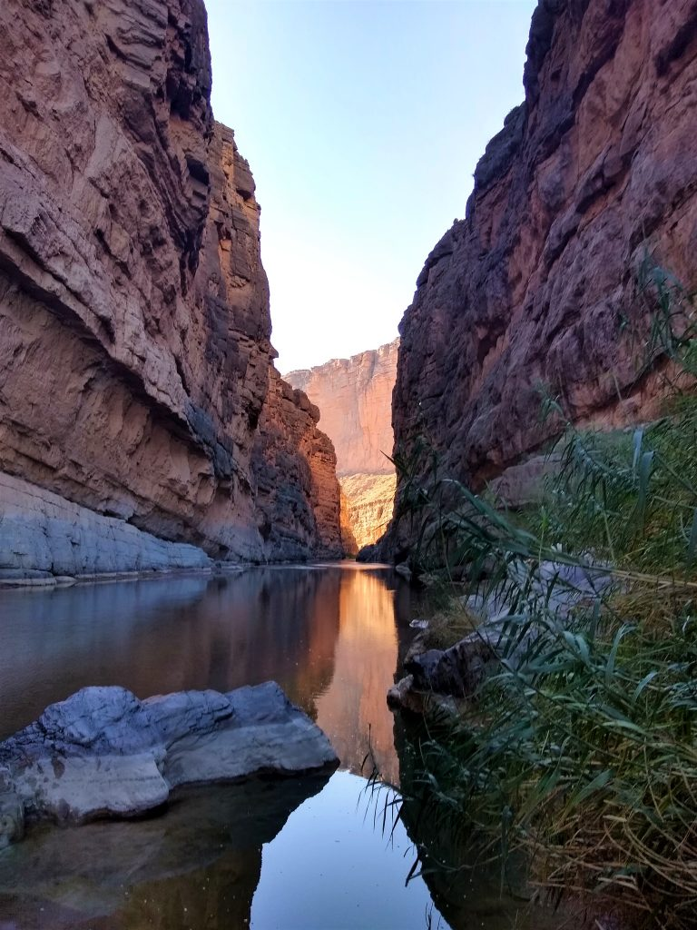 Santa Elena Canyon along the Rio Grande, Big Bend National Park