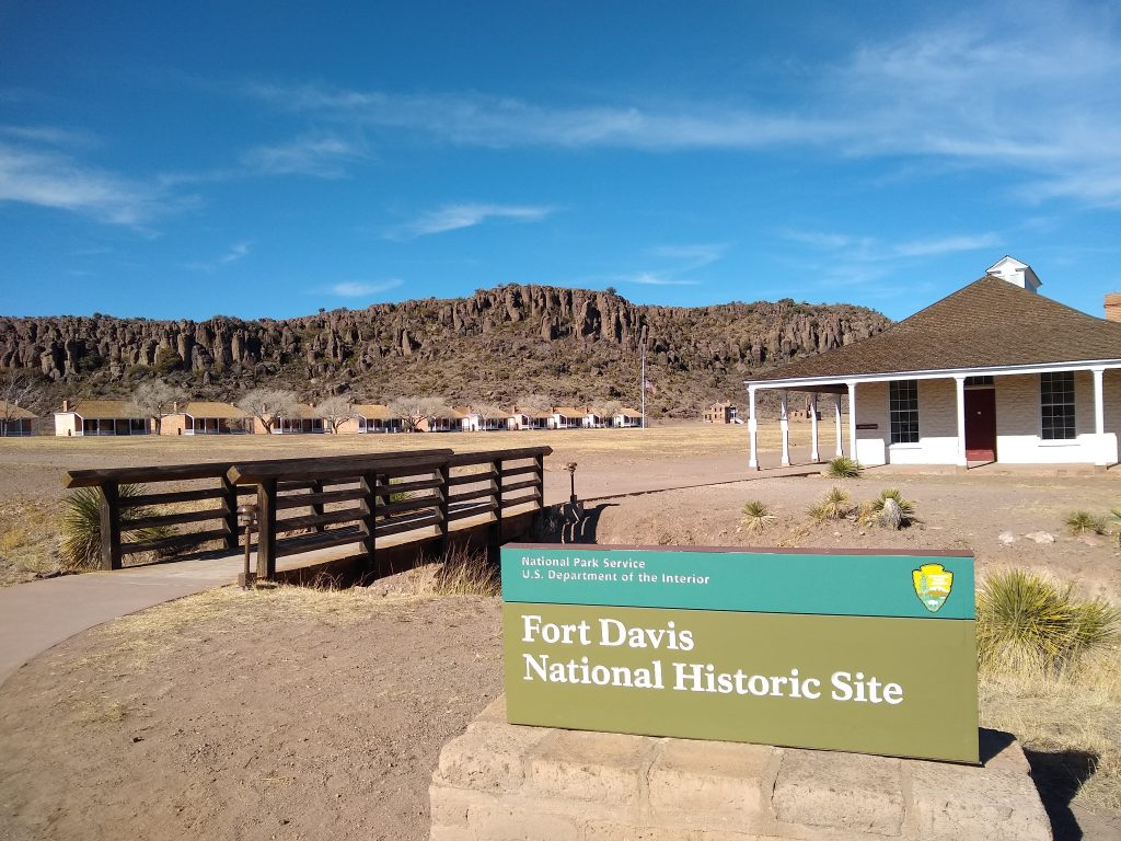 A Vist to Fort Davis National Historic Site as we head home